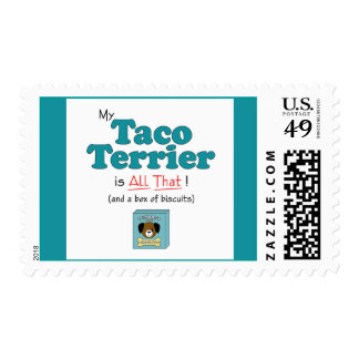 My Taco Terrier is All That! Postage