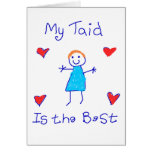 My Taid is the Best Card