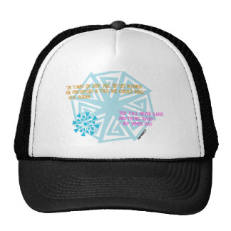 """""""My tail never gives anything away."""" - My Inner Ca Trucker Hat"""