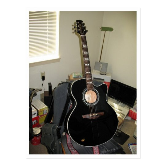 My Takamine (Acoustic-Electric) Postcard