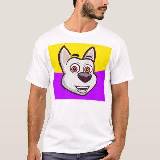 My Talking Dog Charlie T-shirt for man purple