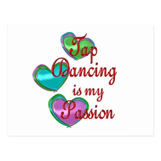 My Tap Dancing Passion Postcard