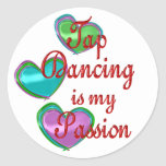My Tap Dancing Passion Stickers