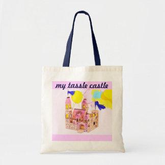my tassle castle tote bag