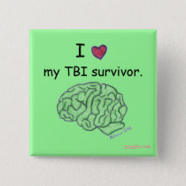 My TBI survivor button