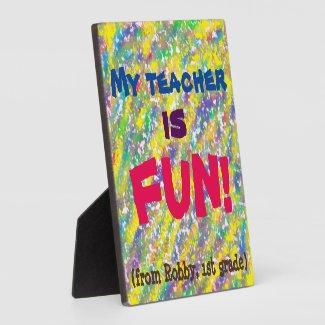 fun gift idea for elementary school teachers