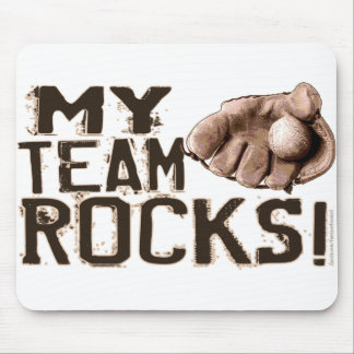 My Team Rocks! Mousepad