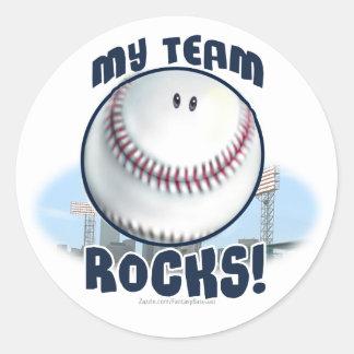 My Team Rocks Sticker