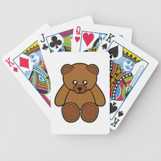 My Teddy Bear Bicycle Playing Cards
