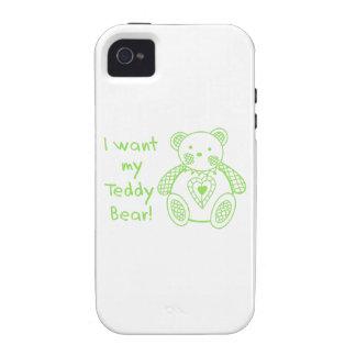 My Teddy Bear iPhone 4 Cover