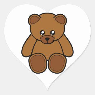 My Teddy Bear Heart Sticker