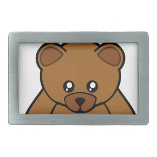 My Teddy Bear Rectangular Belt Buckle