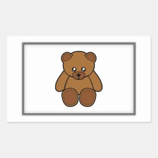 My Teddy Bear Rectangular Sticker
