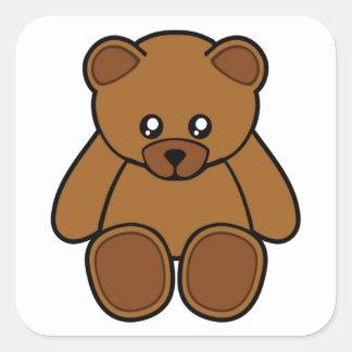 My Teddy Bear Square Sticker