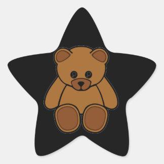 My Teddy Bear Star Sticker