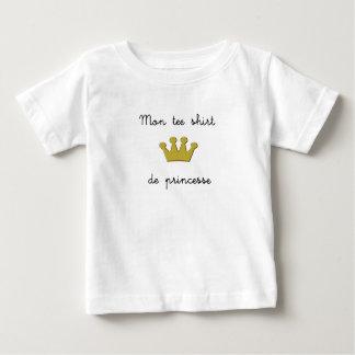 My tee-shirt of princess infant t-shirt