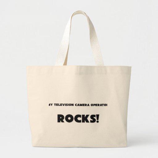 MY Television Camera Operator ROCKS! Tote Bag
