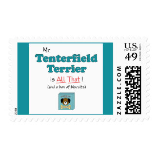 My Tenterfield Terrier is All That! Postage Stamp