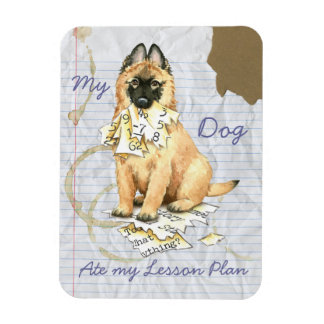My Tervuren Ate My Lesson Plan Magnet