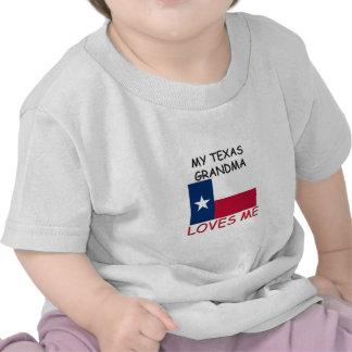 My Texas Grandma Loves Me Shirts