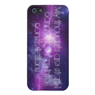 My Thoughts Are Stars iPhone 5/5s Case
