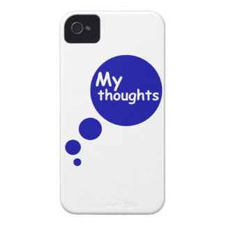 My Thoughts Case-Mate iPhone 4 Case