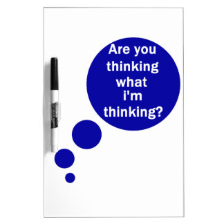 My Thoughts Dry-Erase Board