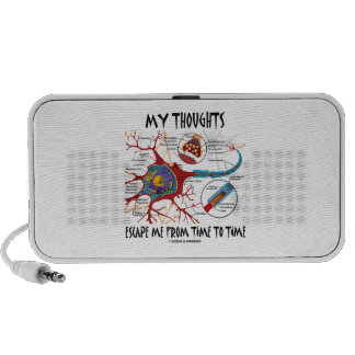 My Thoughts Escape Me From Time To Time Mini Speaker