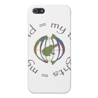 """""""My Thoughts = My World"""" iPhone 5 Covers"""