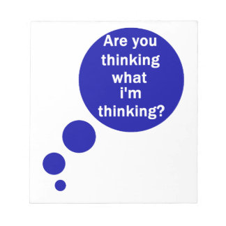 My Thoughts Notepad