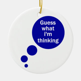 My Thoughts Ornament