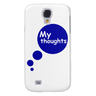 My Thoughts Samsung Galaxy S4 Cover