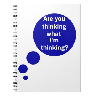 My Thoughts Spiral Notebook