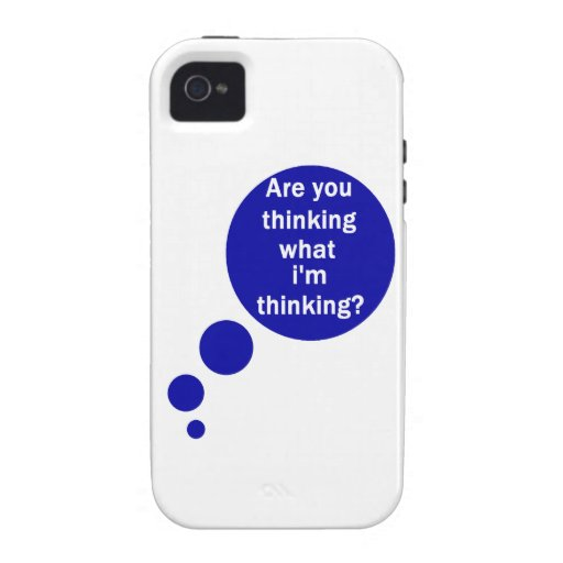 My Thoughts Vibe iPhone 4 Case
