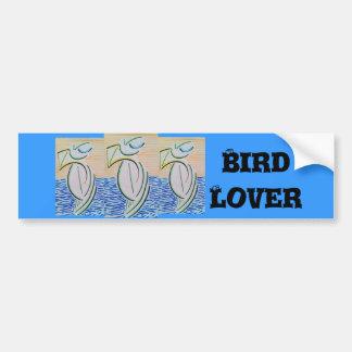 My Three Birds Bumper Sticker