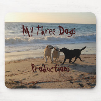 My Three Dogs Productions Mouse Pad