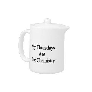 My Thursdays Are For Chemistry