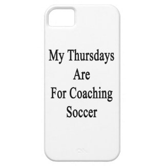 My Thursdays Are For Coaching Soccer iPhone SE/5/5s Case