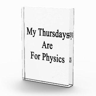 My Thursdays Are For Physics Awards