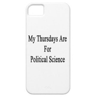 My Thursdays Are For Political Science iPhone 5 Covers