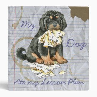 My Tibetan Mastiff Ate My Lesson Plan Binder