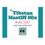 My Tibetan Mastiff Mix is All That! Postcard