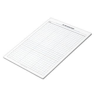 My Tidy Math Paper Notepad