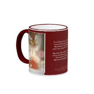 My time is already running late ringer mug
