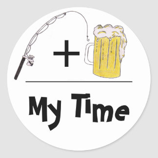 My Time Sticker