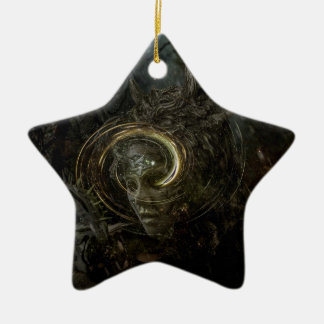 My to bitter half ceramic ornament