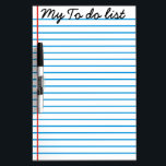 "My TO DO LIST - Dry Erase Board<br><div class=""desc"">Gorgeous and customizable,  My TO DO LIST  Dry Erase Board.</div>"