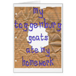 My Toggenburg Goats Ate My Homework Cards