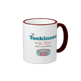 My Tonkinese is All That! Funny Kitty Mug