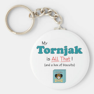 My Tornjak is All That! Keychain